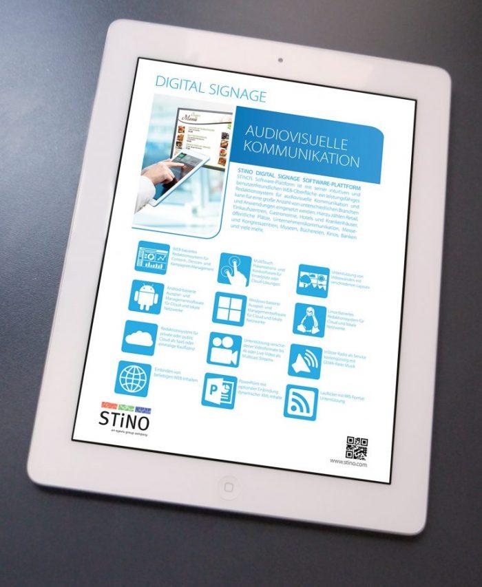 Brochure-Stino-Digital-Signage-design-Germany- Inoace Arif Saeed