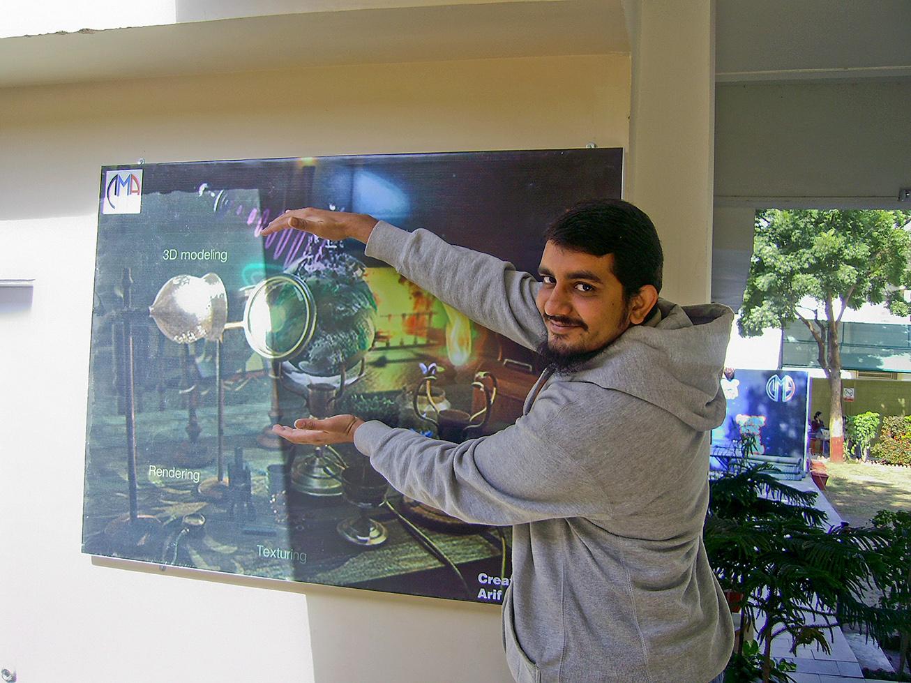 3d mini planet contest arif saeed
