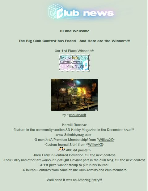 Magical Mini Planet Contest Deviantart Arif Saeed Inoace Karachi