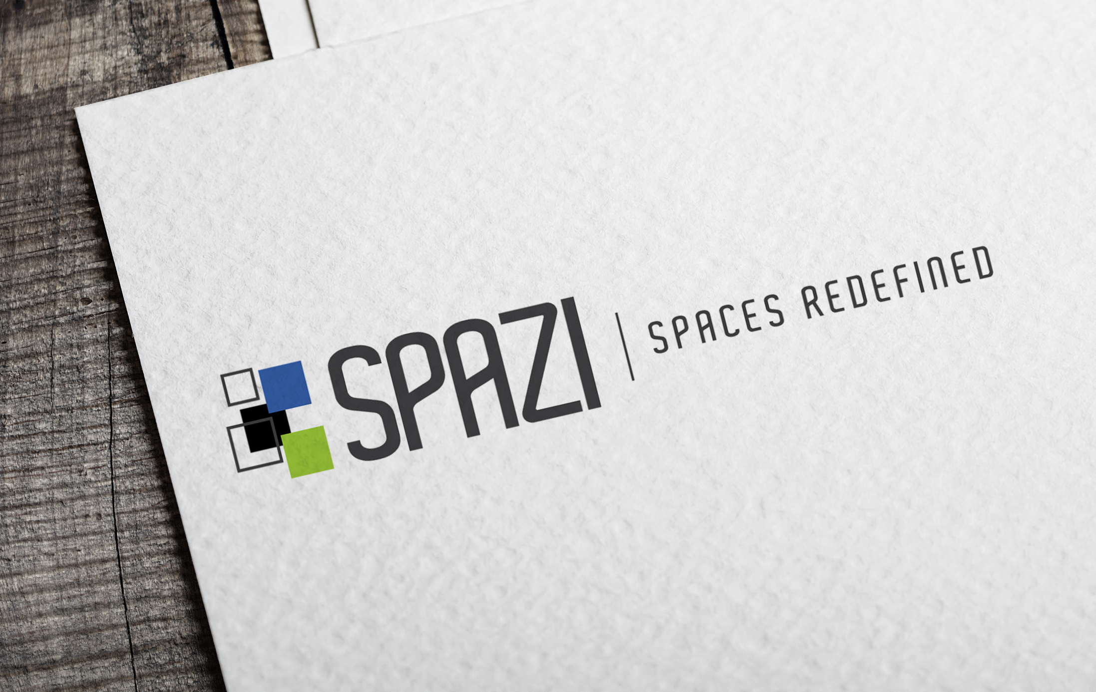 SPAZI - Spaces redefined - logo design