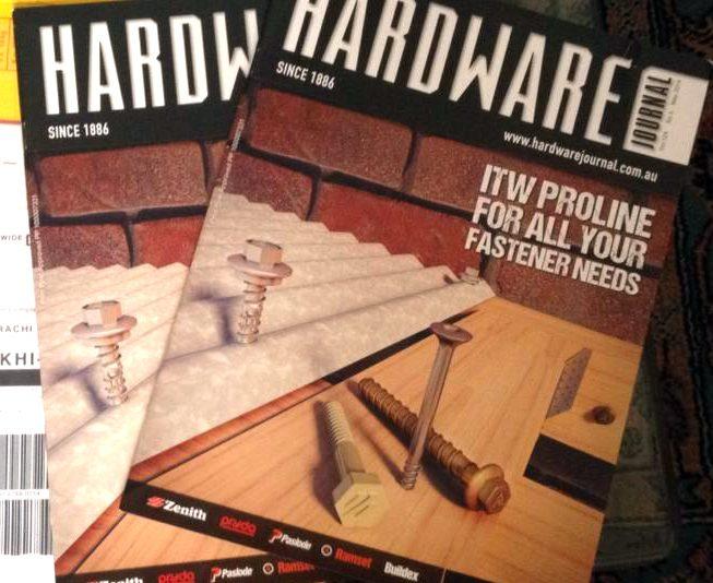 Magazine Cover Hardware Journal Australia 2 hard copy