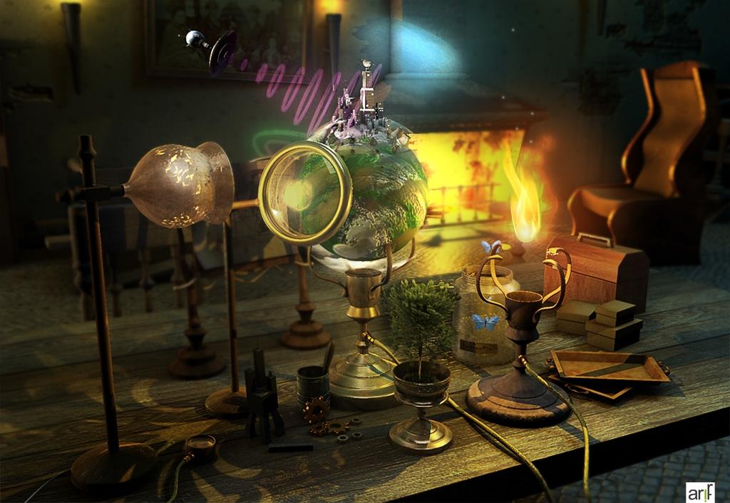 Magical mini planet contest - deviantart - the3dartistclub - choudry arif saeed
