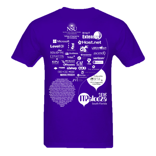Tshirt-ITPalooza-back - Arif - Inoace - e2 marketing